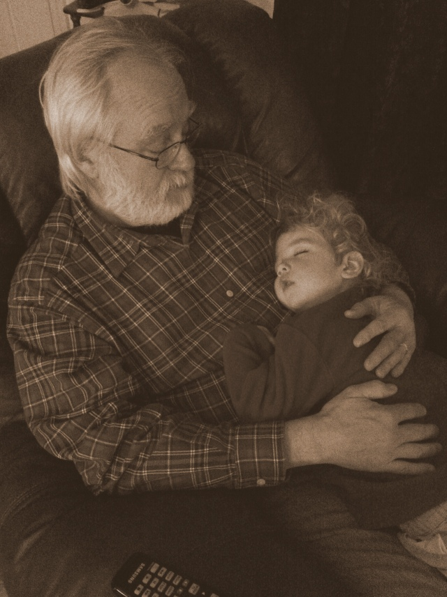 Granddady and Sebastian