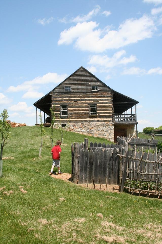 Adam at the American settlement.