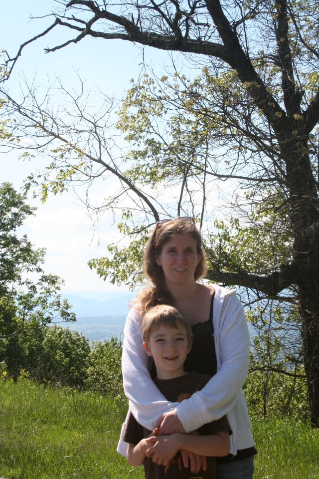 A picture on the Blue Ridge Parkway.