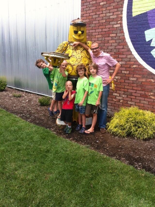 Father's Day at Mellow Mushroom